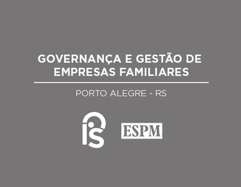 Governança e Gestão de Empresas Familiares – Parceira com ESPM
